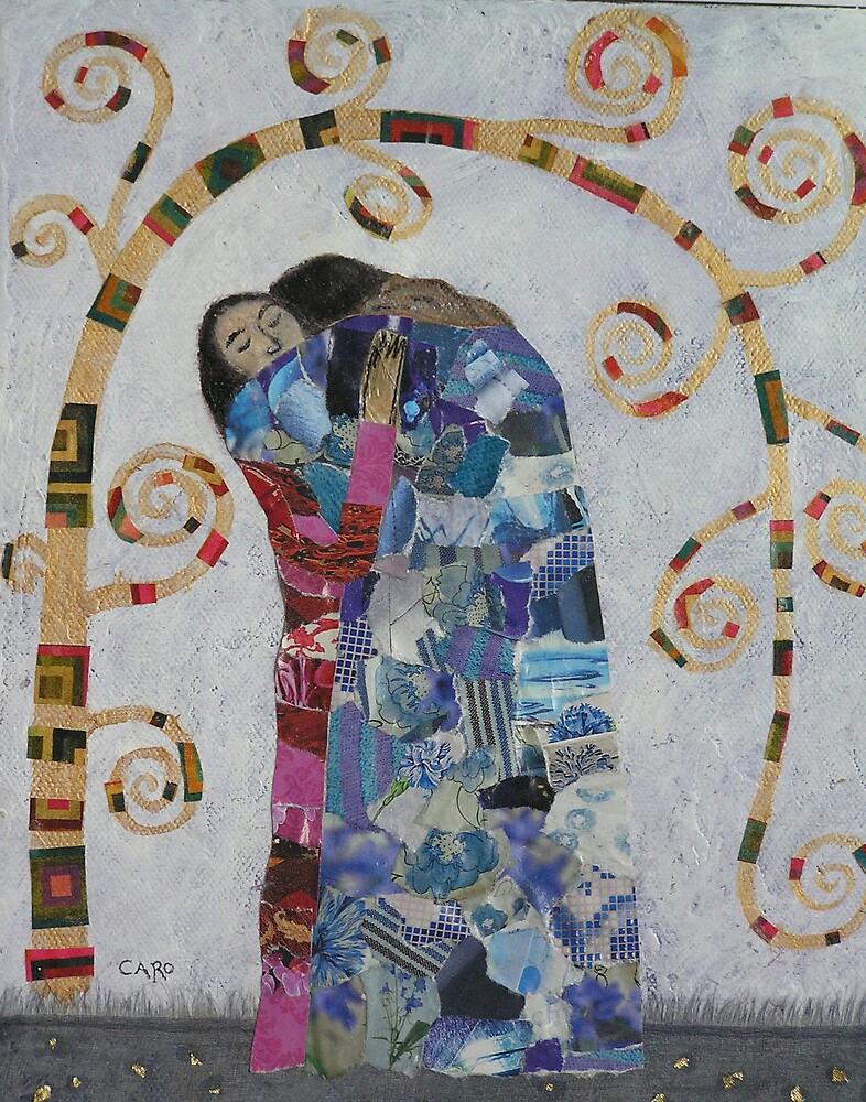 The Embrace - After Klimt by ArteCaro
