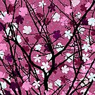 Spring theme floral pink by Richard Laschon