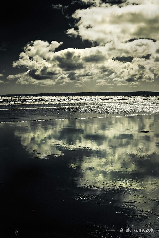 Reflections B&W by Arek Rainczuk