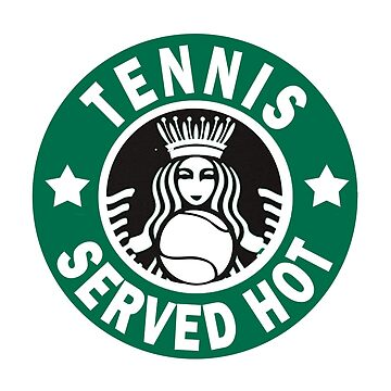 "Funny ""Tennis Served Hot"" Shirt Novelty Gift for Tennis Fan by techman516"