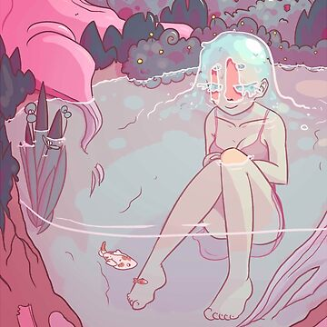 water hair girl by socialllama