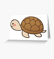 Cute tortoise Greeting Card