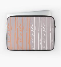 Design bamboo silver Laptop Sleeve
