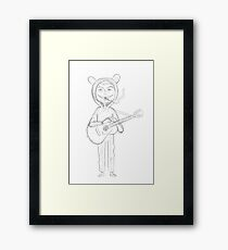 Mac Demarco - Wolf Who Wears Sheeps Clothes Framed Print