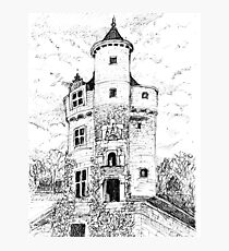 Chateau Guardhouse Photographic Print