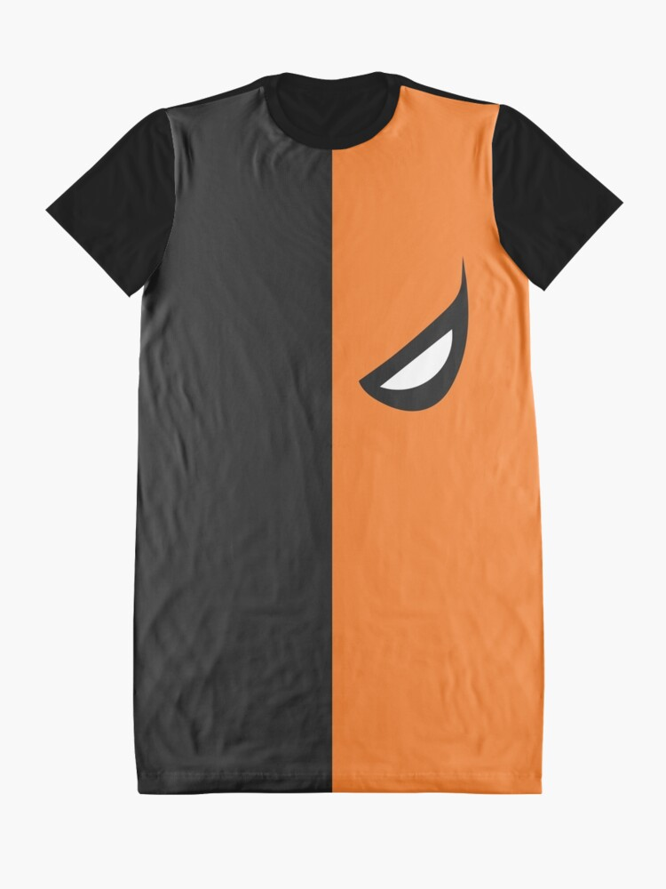 Alternate view of Deathstroke Mask Graphic T-Shirt Dress