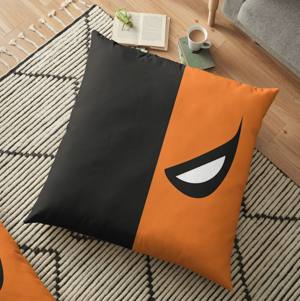 Deathstroke Mask Floor Pillow