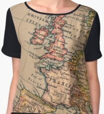 Cartography / stadia Chiffon Top