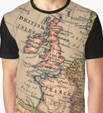 Cartography / stadia Graphic T-Shirt