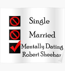 Mentally Dating Robert Sheehan Poster