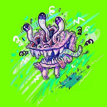 Eyeball Monsta by nate-bear