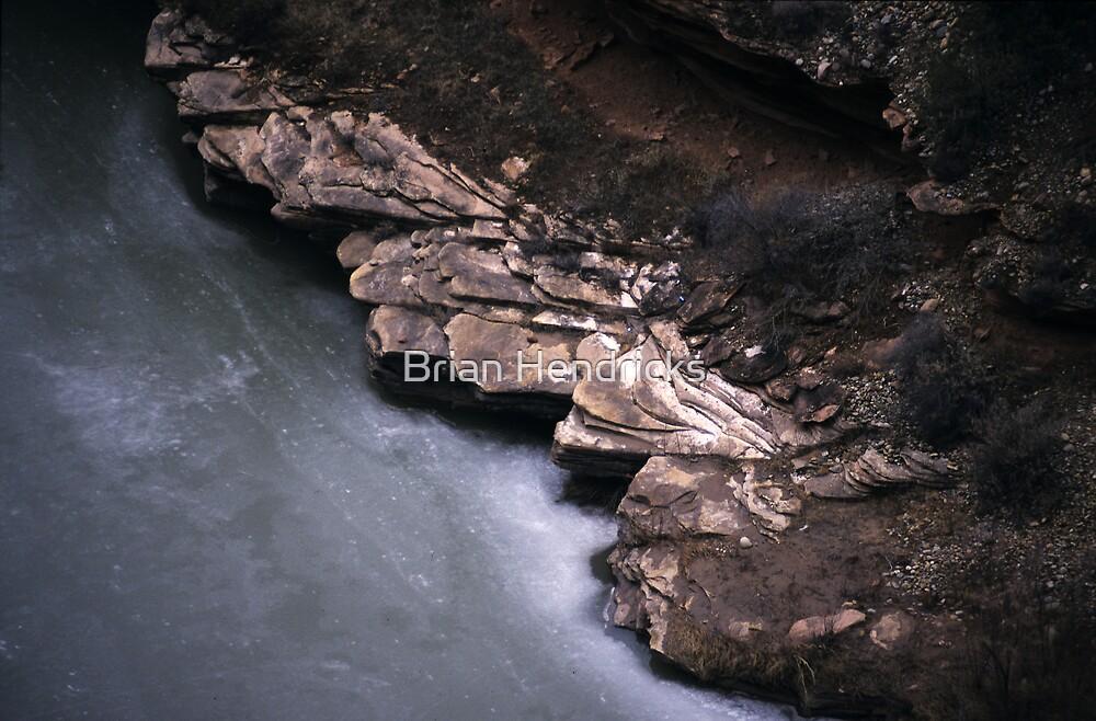 Frozen River by Brian Hendricks