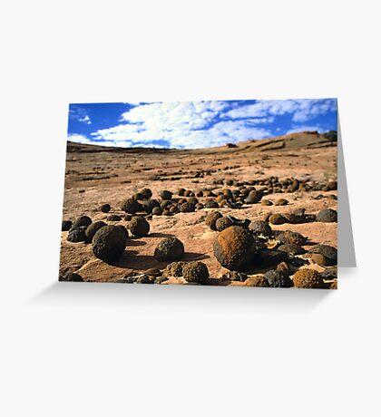 Moqui Marbles Greeting Card