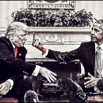 Obama flicks off Trump by metropol