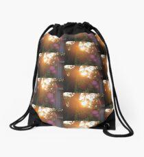 Flares and Trees Drawstring Bag