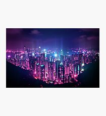 Hong Kong Neo Future Photographic Print