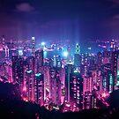Hong Kong Neo Future by Guillaume Marcotte