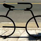 Bicycle Rack by Diana Forgione