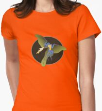 Archaeopteryx (the fire breathing kind) Womens Fitted T-Shirt