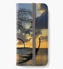 Paradies iPhone Flip-Case/Hülle/Klebefolie