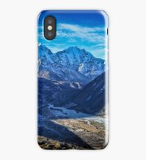 View Above Pheriche iPhone Case/Skin