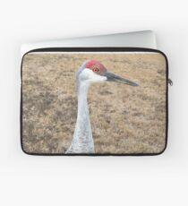 Sand Hill Crane (Hen) Laptop Sleeve