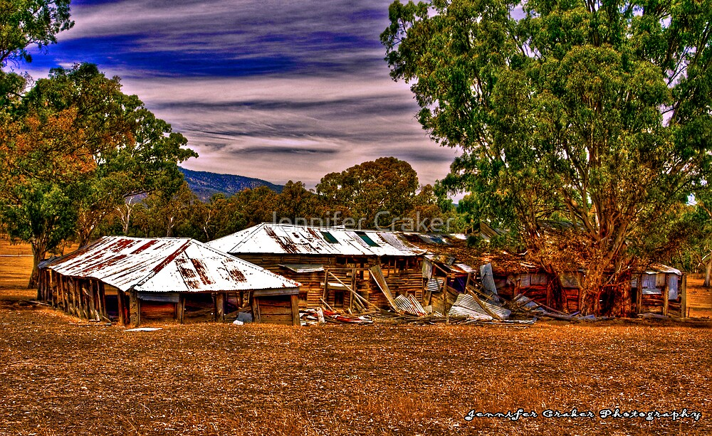 Deserted Sheering Shed at Rosebrook by Jennifer Craker
