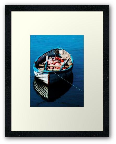"""""""Tethered Boat"""" by Bradley Shawn  Rabon"""