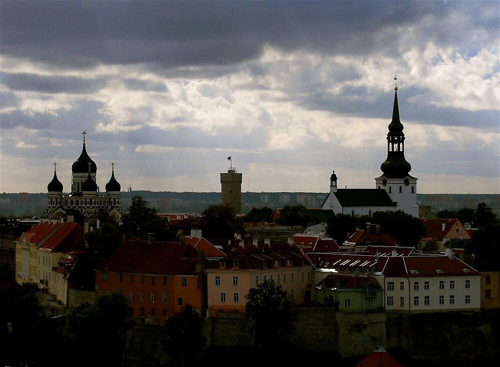 Tallinn old town by C1oud