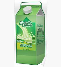 Ahch-To Farms Green Milk Carton Poster