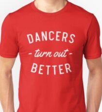 Tänzer drehen sich besser Slim Fit T-Shirt