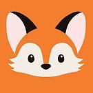 Coffee Fox Face by kieutiepie