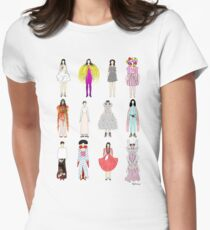 Outfits of Bjork Fashion Women's Fitted T-Shirt