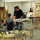 me in artclass by J-C Saint-Pô