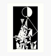 König Krule - 6 Fuß unter dem Mond Kunstdruck