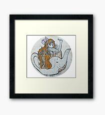 Elephant Teacup  Framed Print
