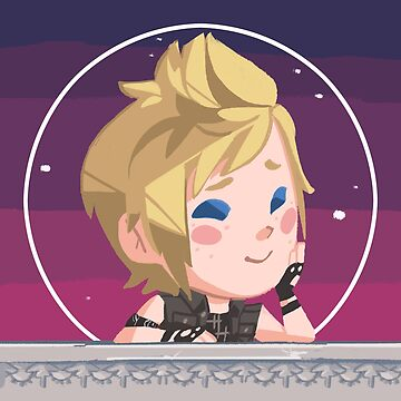 Prompto Pining Pal by triangleArt