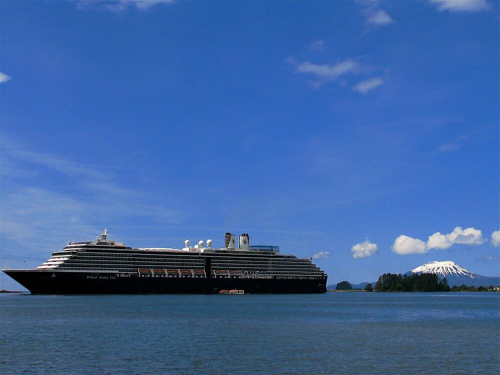 Alaskan Cruiseship by C1oud