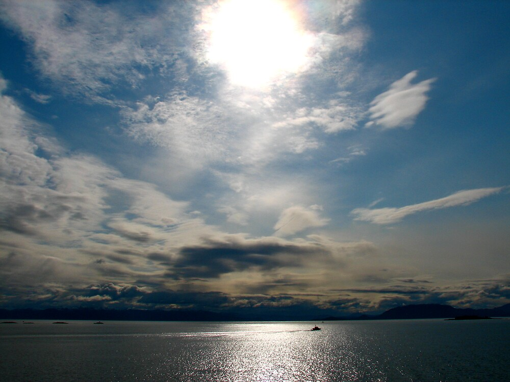Alaskan coast by C1oud