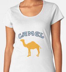 Camel Cigarette Logo Women's Premium T-Shirt