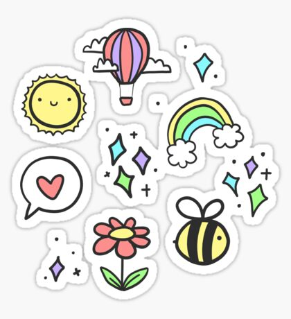 Positivity Pattern Sticker