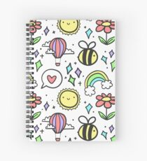 Positivity Pattern Spiral Notebook