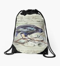 Country Diary - First, Do no harm - Primum non nocere Drawstring Bag