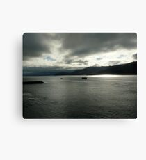 Heavy Skies Canvas Print
