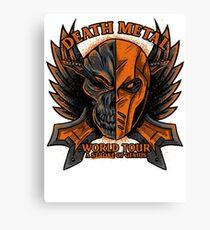 Death Metal Canvas Print
