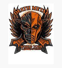 Death Metal Photographic Print