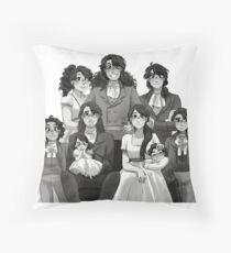 Hamil Family Throw Pillow