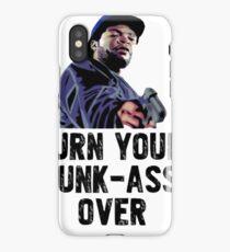 Black movie memorabilia  iPhone Case/Skin