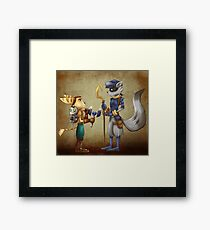 Clank, Ratchet and Sly Framed Print