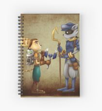 Clank, Ratchet and Sly Spiral Notebook